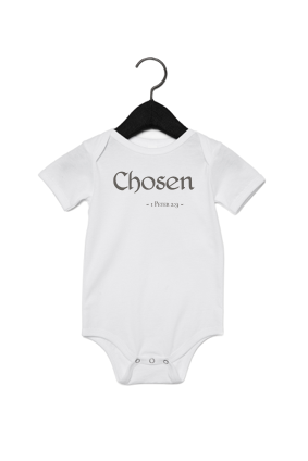Chosen: Baby Short Sleeve One Piece