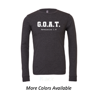 G.O.A.T.: Adult Unisex Long Sleeve