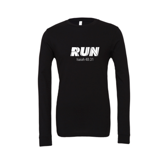Run: Adult Unisex Long Sleeve