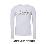 Lovely: Adult Unisex Long Sleeve