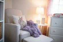Load image into Gallery viewer, american made faux fur blanket for new baby in nursery room
