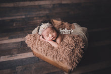 Load image into Gallery viewer, baby faux fur blanket in super soft texture for baby or kid. Handmade in the USA by FuRmanity with Custom Photo Props fur