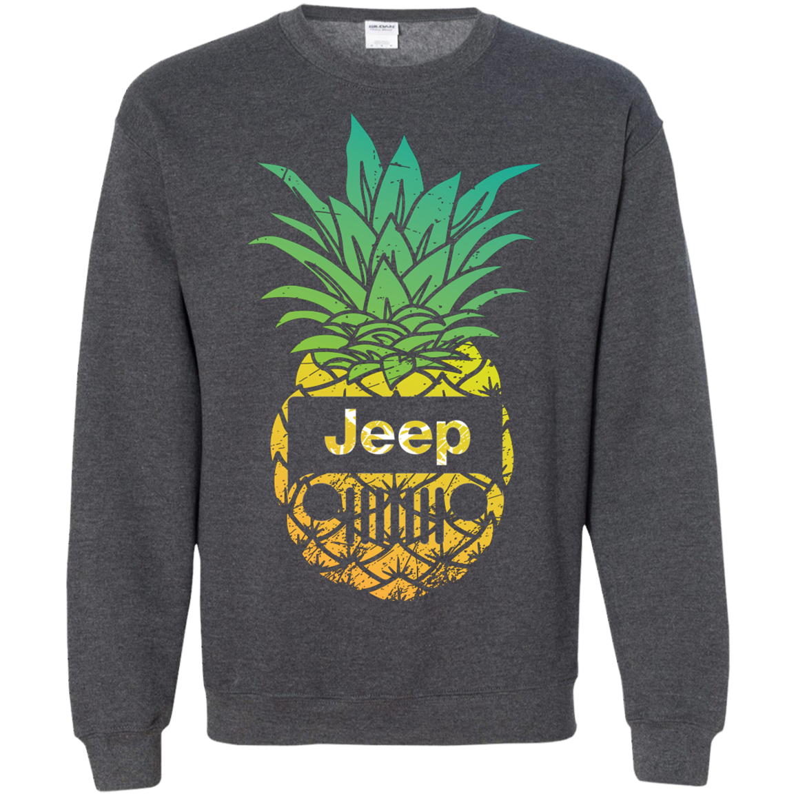 Pineapple Jeep Lovers Funny Off-road Driving Shirt