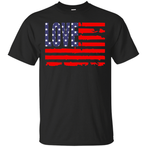 Men's Love America Ultra Cotton T-Shirt