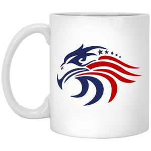 New! All American 11 oz. White Mug