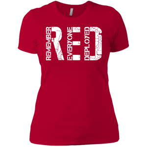 RED Woman's Premium T-Shirt