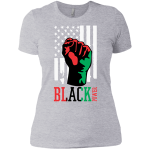 Woman's Black Power Premium T-Shirt