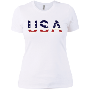 Woman's USA Premium T-Shirt