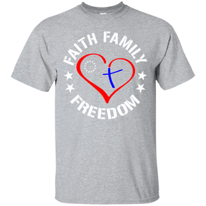 Family Faith and Freedom Ultra Cotton T-Shirt