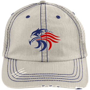 All American Distressed Baseball Cap