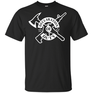 New! Declaration of Duty Ultra Cotton T-Shirt(Dark Colors)