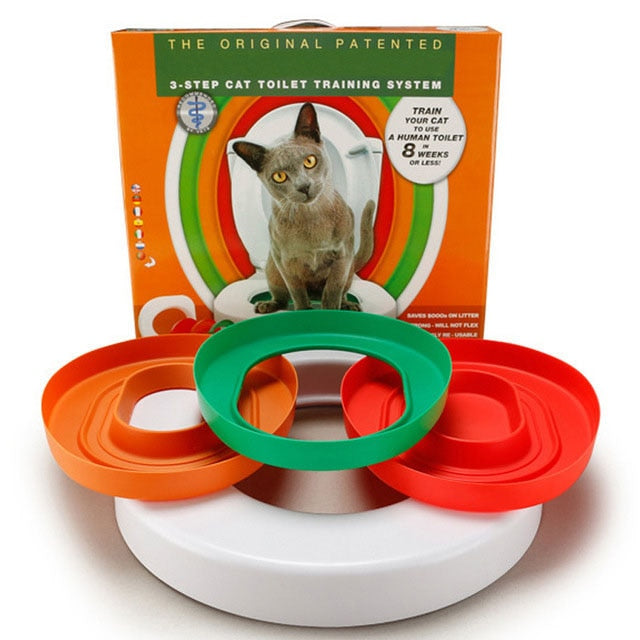3 Step Cat Toilet Training System Kit