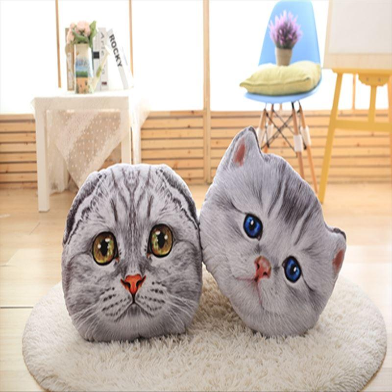 3D Pillow Cat Face - Free shipping