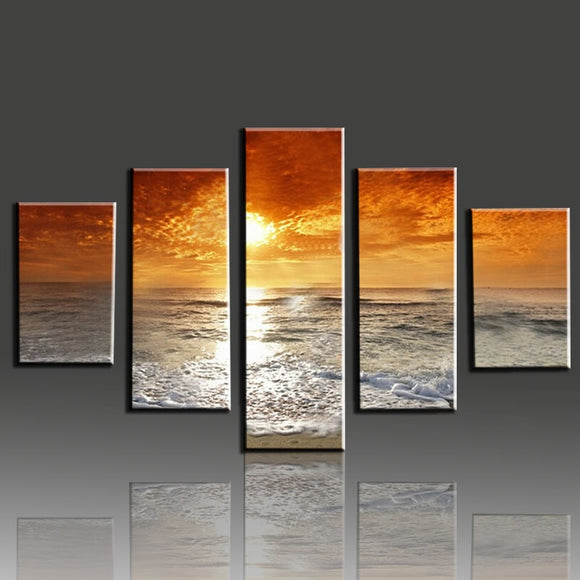 Sunset & Sea 5 pcs - willydeals