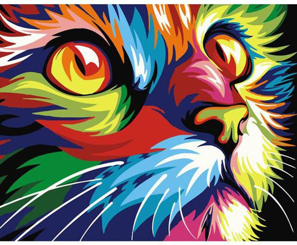 Colorful Cat - willydeals
