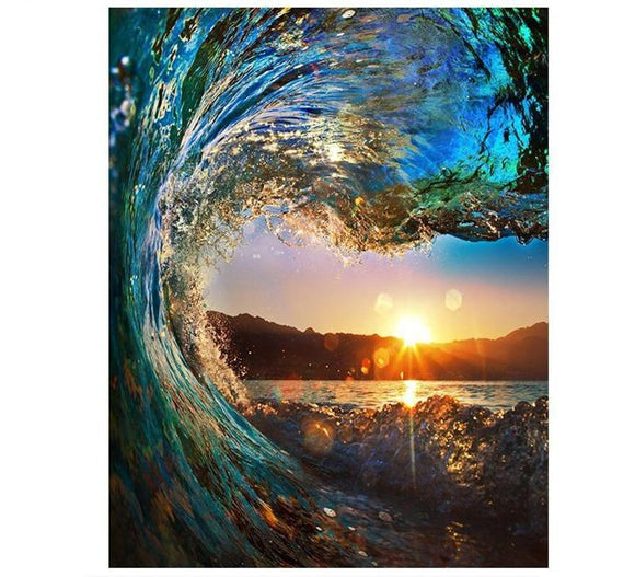 Wave Sunset - willydeals