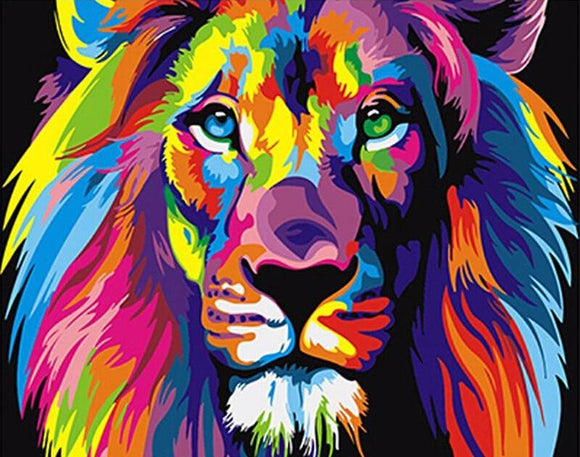 Colorful Lion - willydeals