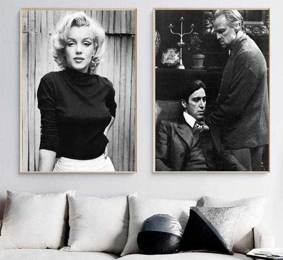 Marilyn Monroe, Godfather, Muhammad Ali - willydeals