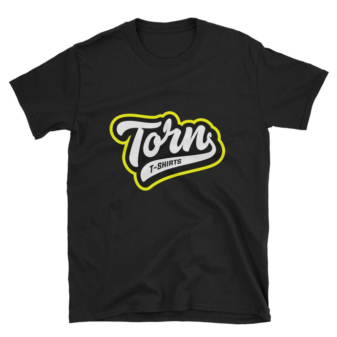 Torn Black Unisex T-Shirt