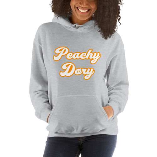 Peachy Dory Hooded Sweatshirt