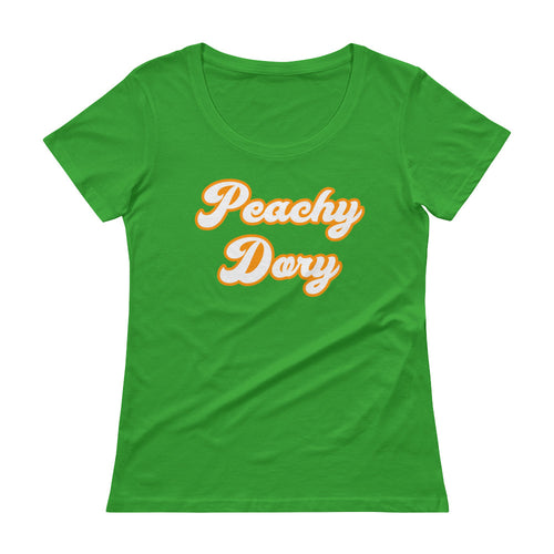 Peachy Dory - Ladies' Scoopneck T-Shirt