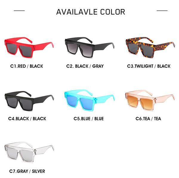 Retro Square Sunglasses