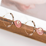 New French Style Natural Stone Earrings