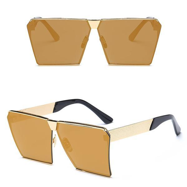 Sunglasses-Unique Shield Shades