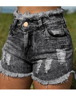 Basic casual sexy denim shorts