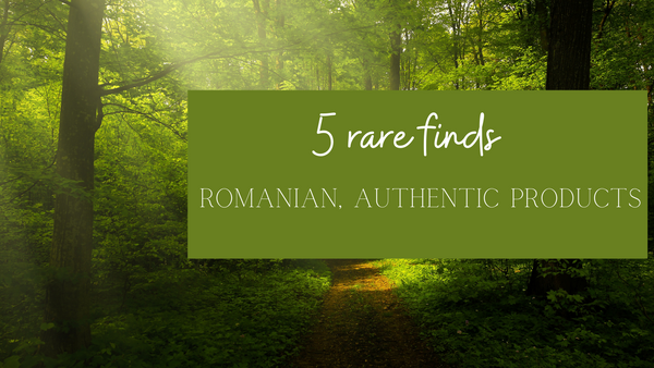 TOP 5 rare finds: Romanian products