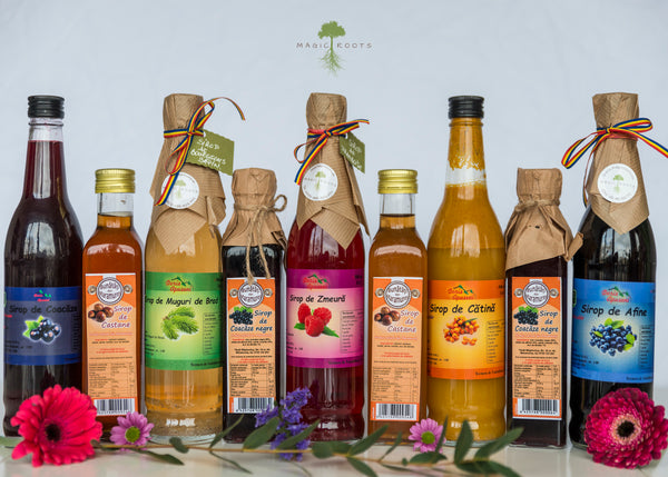 10 Natural Syrups Pack