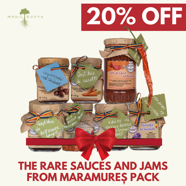 Rare Sauces & Jams from Maramures