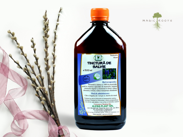 Tincture for Hormonal System: Sage 500ml