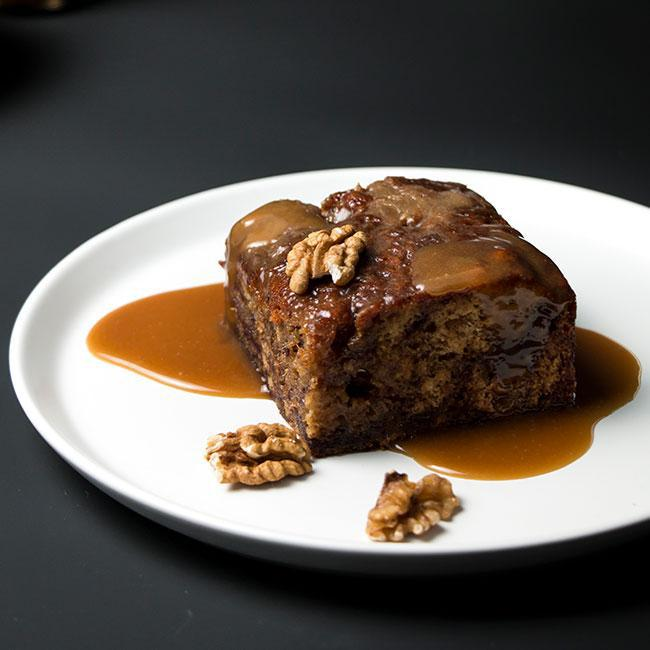 Farro Kitchen Sticky Date Pudding with Toffee Sauce