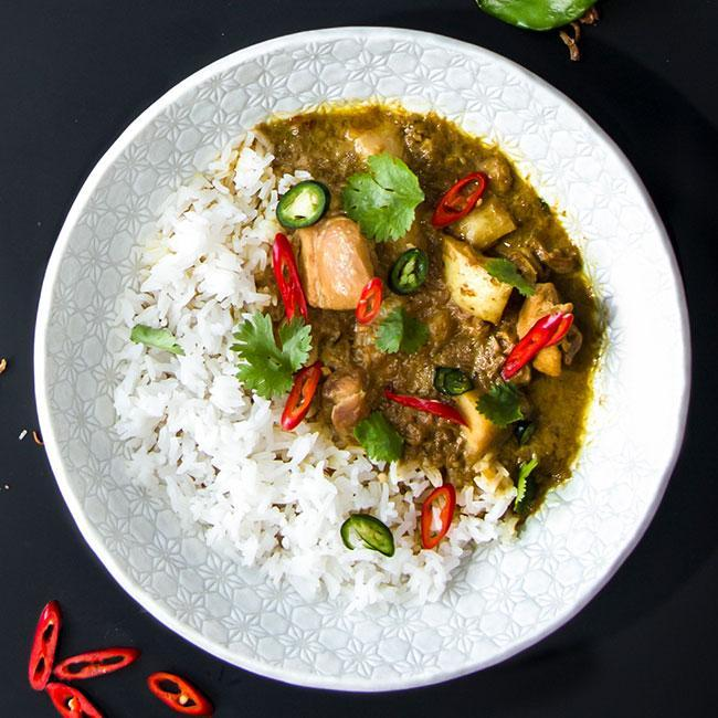 Farro Kitchen Thai Chicken Curry