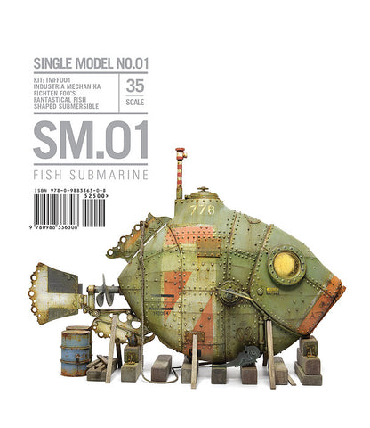 SM01 - FISH SUBMARINE - Rinaldi Studio Press