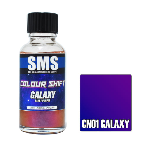 Colour Shift GALAXY (BLUE / PURPLE) 30ml