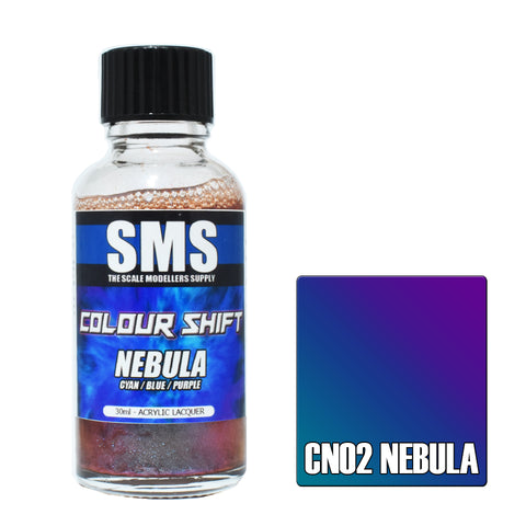 Colour Shift NEBULA (CYAN / BLUE / PURPLE) 30ml