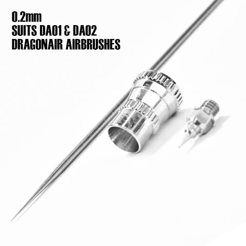 DragonAir Airbrush 0.2mm NOZZLE KIT