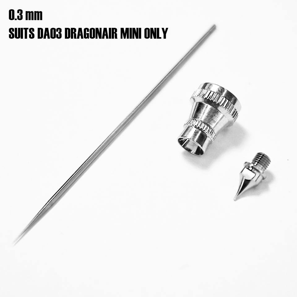 DragonAir Mini Airbrush 0.3mm NOZZLE KIT