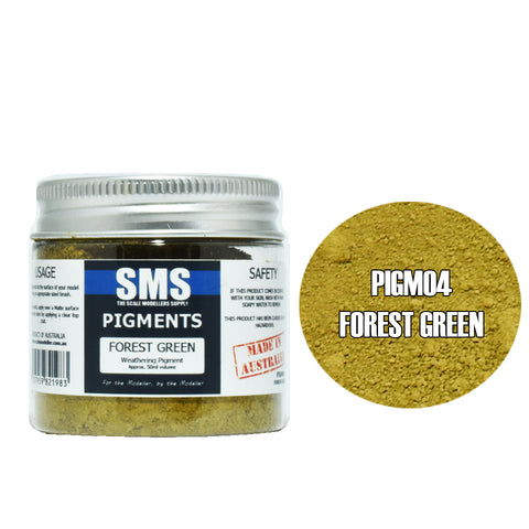 Weathering Pigment - FOREST GREEN