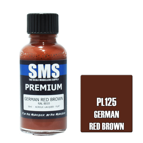 Premium GERMAN RED BROWN RAL8010 30ml