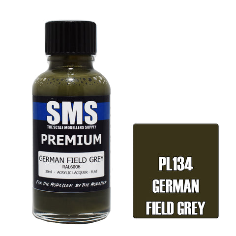 Premium GERMAN FIELD GREY RAL6006 30ml