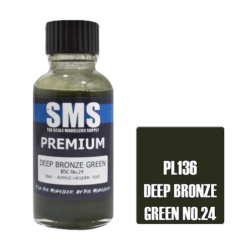 Premium DEEP BRONZE GREEN BSC No.24 30ml