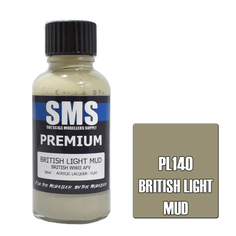 Premium BRITISH LIGHT MUD 30ml