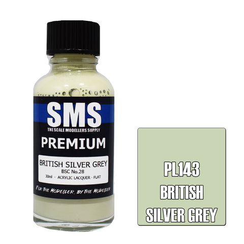 Premium BRITISH SILVER GREY BSC No.28 30ml