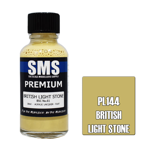 Premium BRITISH LIGHT STONE BSC No.61 30ml
