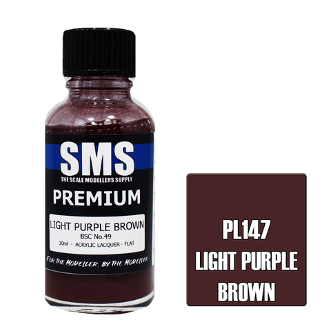 Premium LIGHT PURPLE BROWN BSC No.49 30ml