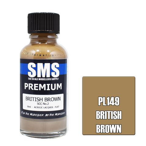 Premium BRITISH BROWN SCC No.2 30ml
