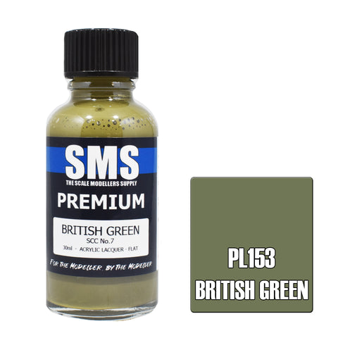 Premium BRITISH GREEN SCC No.7 30ml